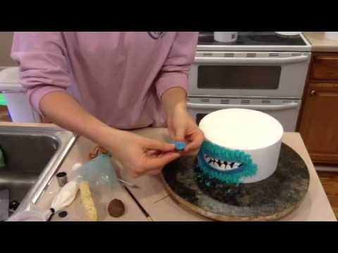 Sully from Monsters Inc Cake Tutorial YouTube