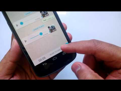 How to Sent Voice Messages in WhatsApp