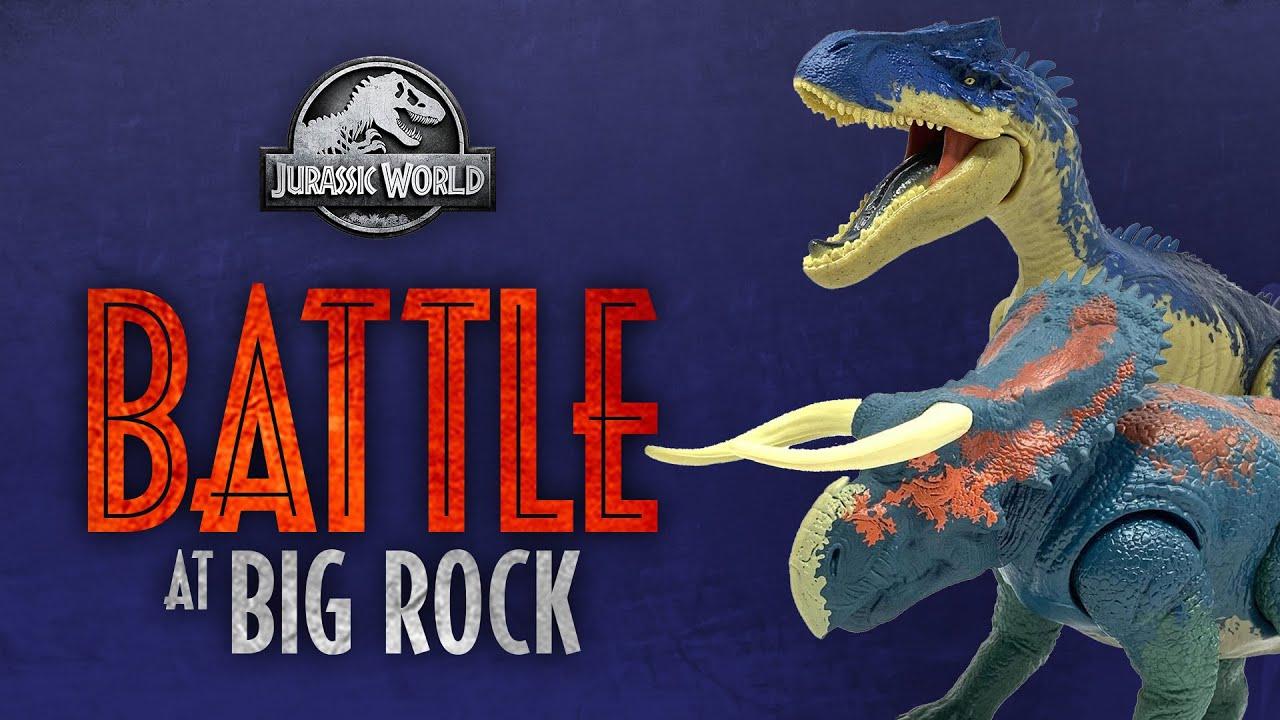 Jurassic World Dino Rivals Battle At Big Rock NASUTOCERATOPS Dinosaur 2019