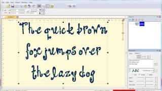 فيديو 3: كيفية إنشاء و تحرير نص متعدد الخطوط مع حكة 2 غرزة الخطوط في Embrilliance