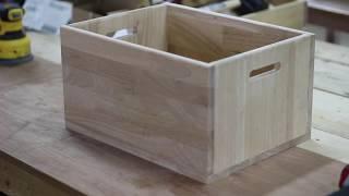 고무나무15T 손잡이구멍박스 DIY만들기