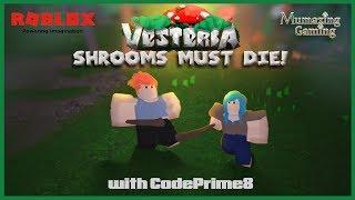 ROBLOX Vesteria 'Shrooms must Die! with CodePrime8