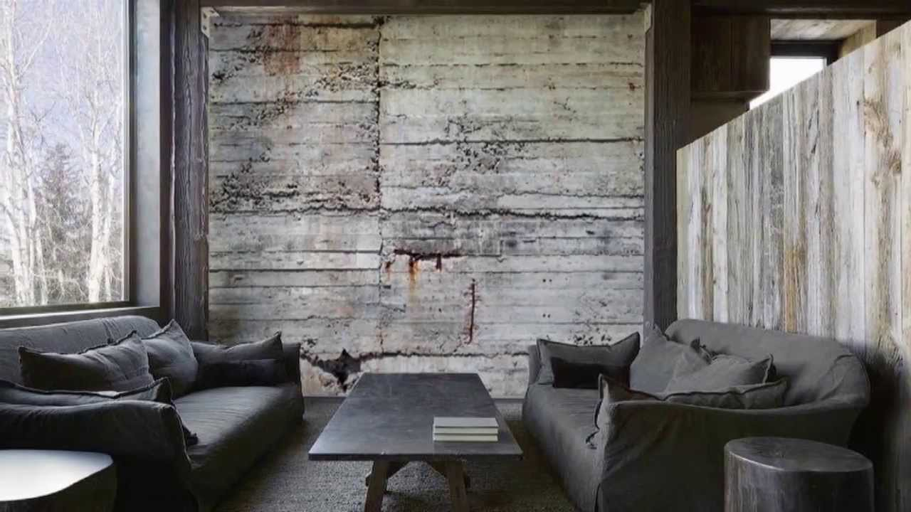 Creating concrete walls without concrete youtube for Interior design decorative paint effects