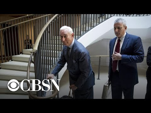 Roger Stone indicted in Mueller probe