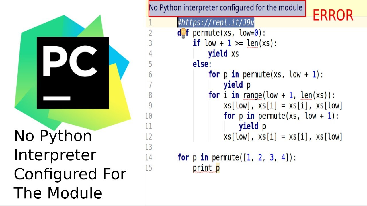 No Python Interpreter Configured For The Module - PyCharm/IntelliJ