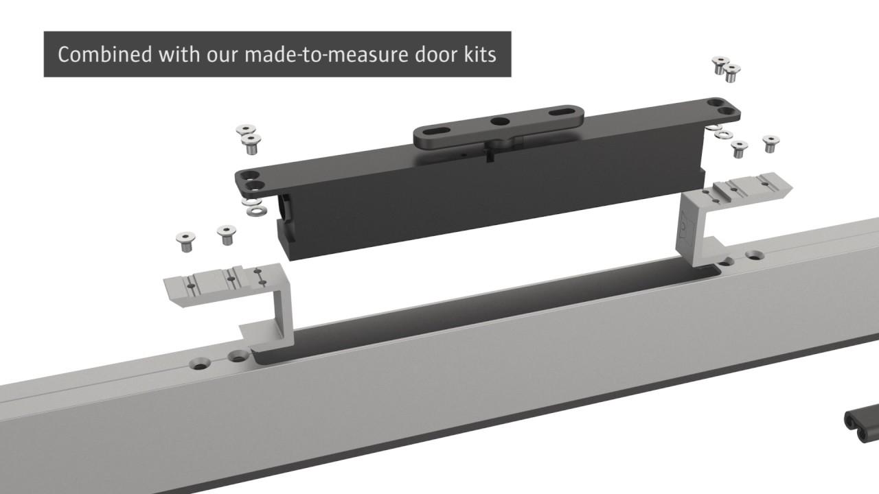 Portapivot custom-made hardware for pivot-, glass - and
