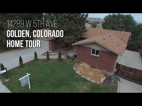 14289 W 5th Avenue, Golden Colorado Home tour