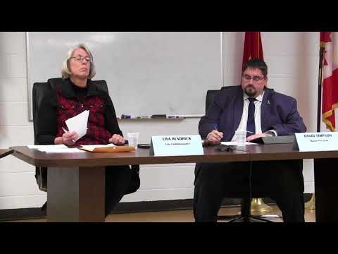 Marine City Commission Meeting, Thurs., Nov. 16, 2017