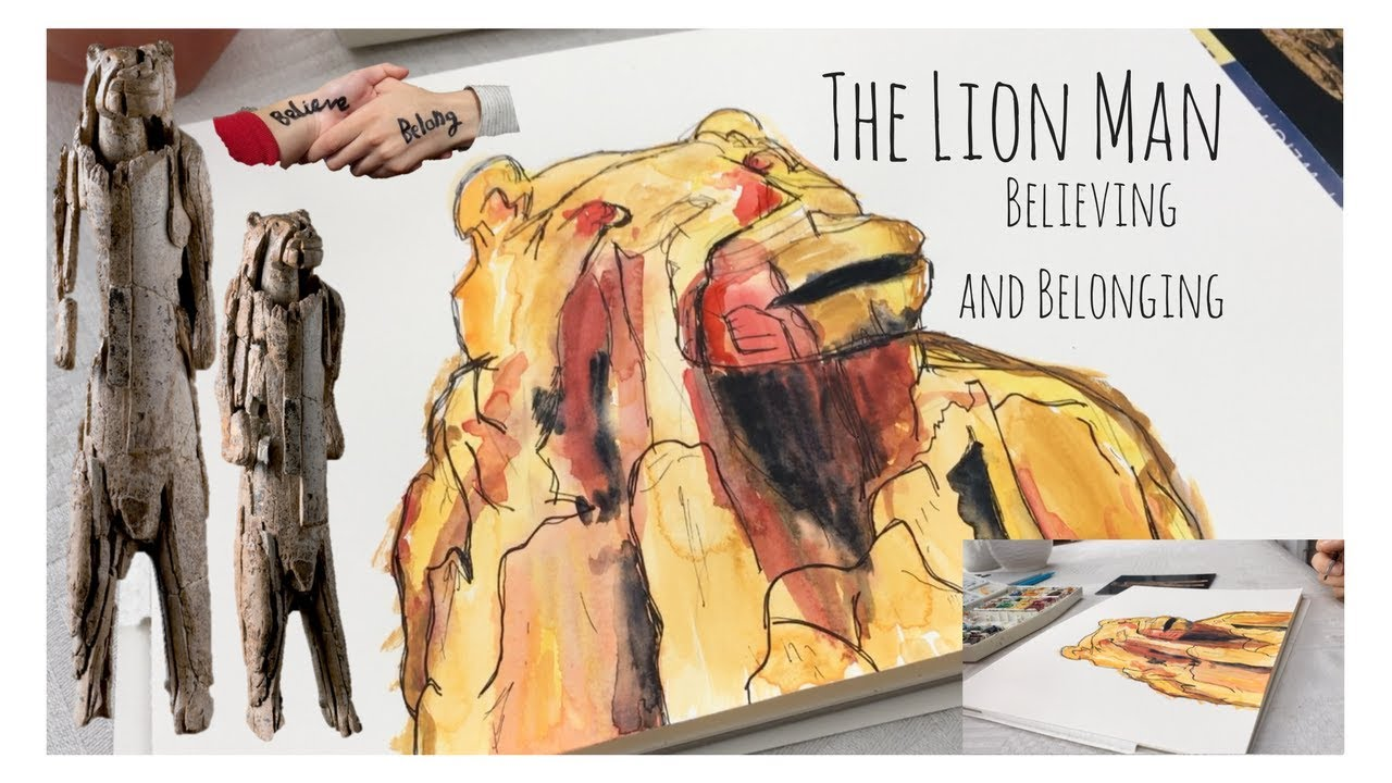 Lion Man Cave Art : The lion man believing and belonging youtube