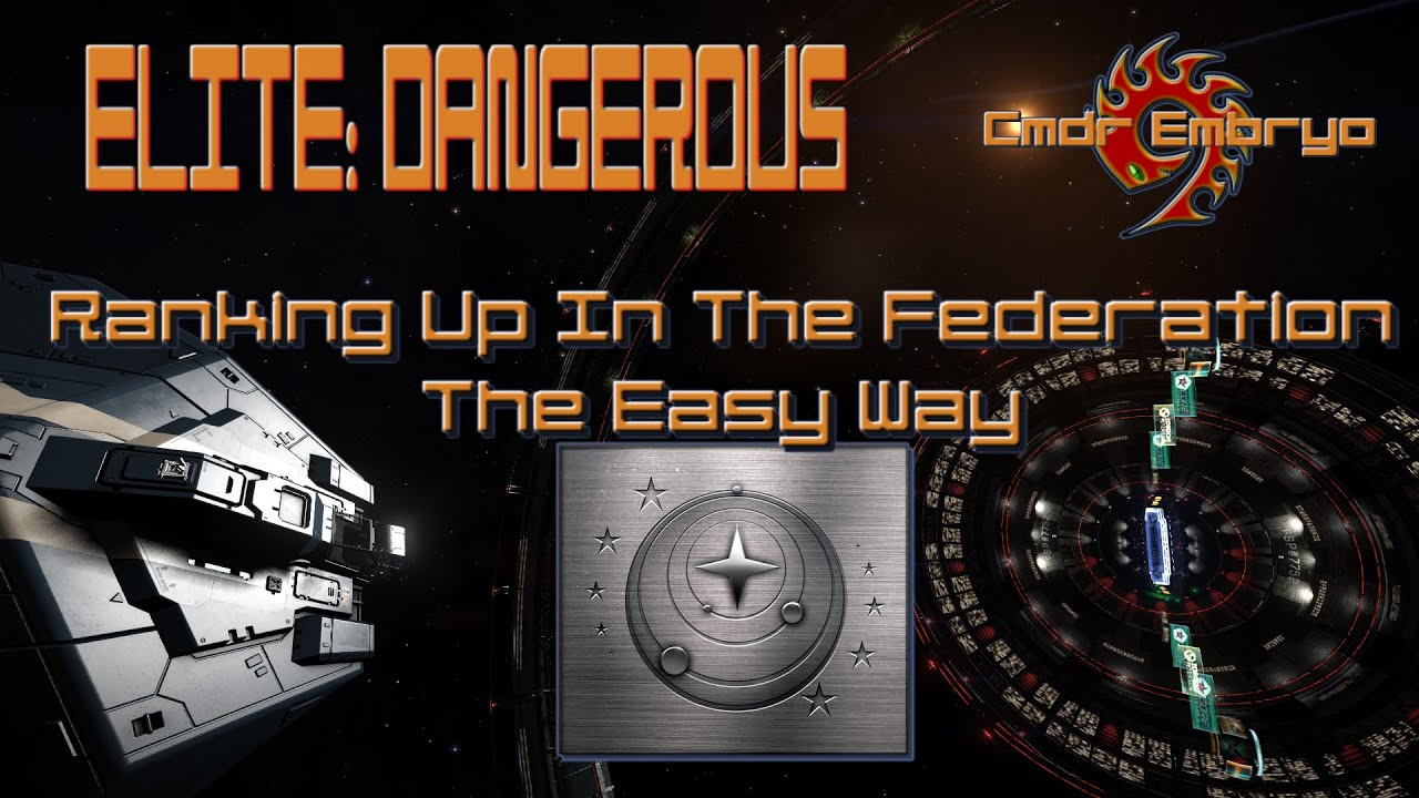 Ranking Up in Federation - Safe and Easy - Elite:D