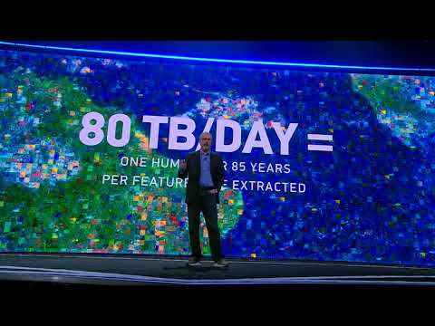 AWS re:Invent 2017 - Dr. Walter Scott Shares How DigitalGlobe Uses Amazon SageMaker