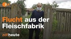 Nach Corona-Ausbruch: So leiden die Schlachter aus Rumänien