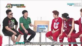 ENG SUB 130710 EXO at Weekly Idol FULL