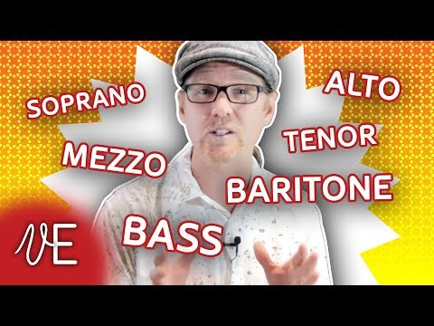 Voice Classification for Singers | Soprano Alto Tenor Bass | #DrDan