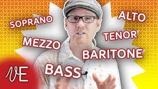 Voice Classification for Singers | Soprano Alto Tenor Bass | #DrDan