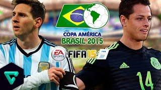 Argentina vs. Mexico | Semi Finals | jmc Copa América 2015 | FIFA 15