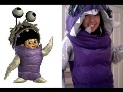 1 5 Boo From Monsters Inc Tutorial The Body Youtube