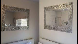 Dollar Tree DIY || Huge Decorative Wall Mirror