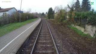 Führerstandsmitfahrt von Kaiserslautern Hbf nach Pirmasens  - BR 643 - DB Bahn Nr.56