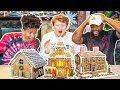 2HYPE Gingerbread House Making Competion!