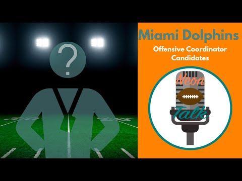 Miami Dolphins OC Candidates