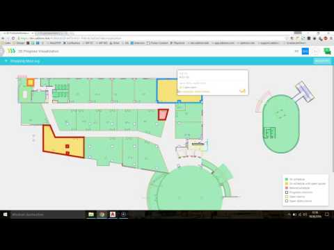 Construction Progress Visualisation using Sablono and Autodesk AutoCAD (.dwg)