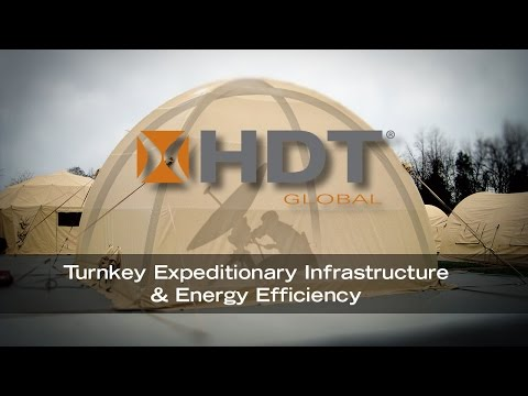 HDT Global Turnkey Expeditionary & Energy Efficiency Solutions