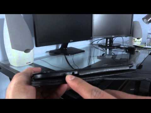 Nexus 10 Case Review (360 rotation and sleep feature)
