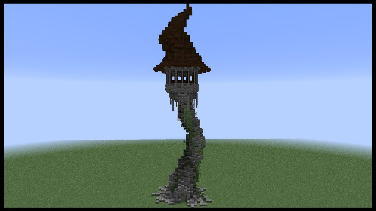 Minecraft How To Make A Witch Tower Youtube