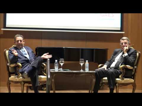 Tertulia de Alfonso Ussia sobre Luis Sanchez Polack 'TIP' en el Ateneo Mercantil