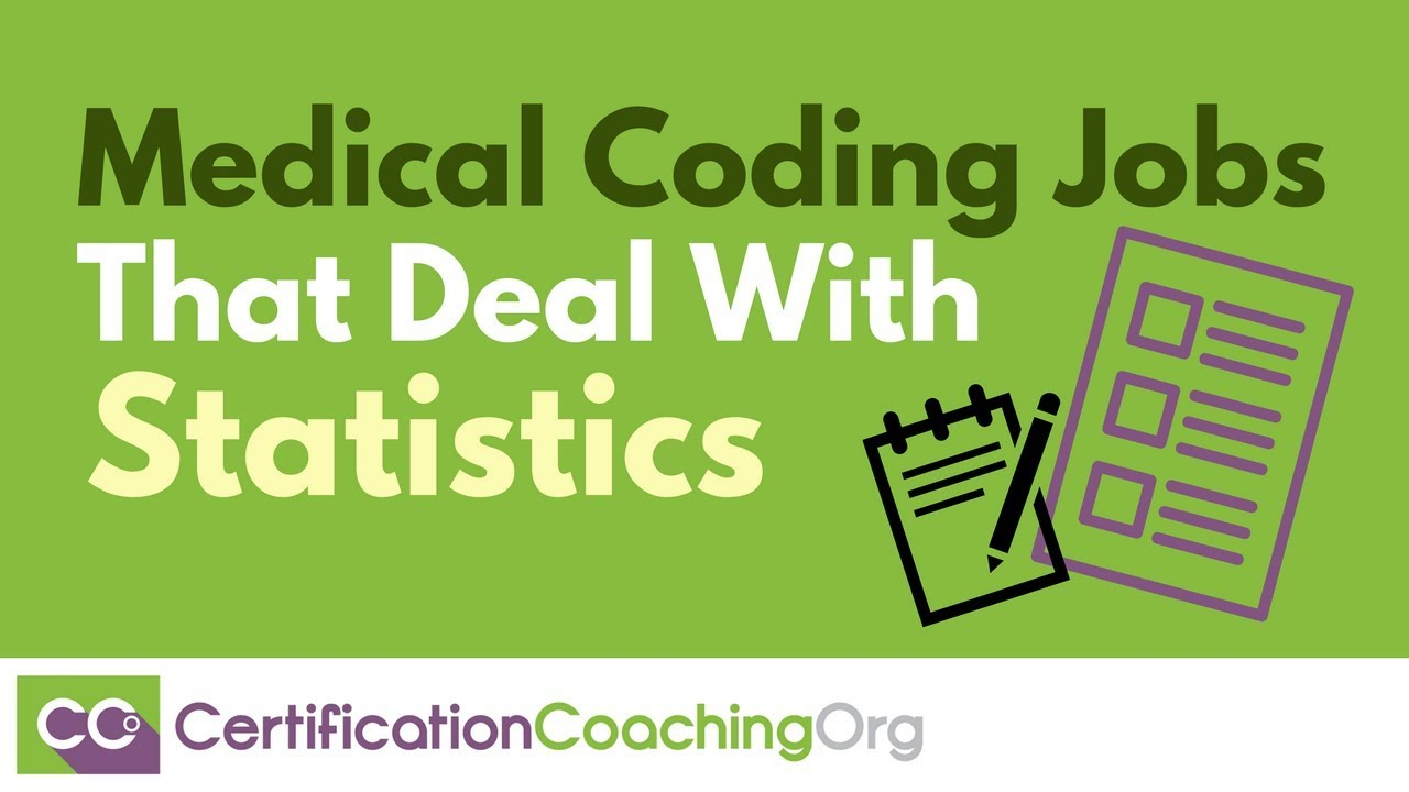 Medical Coding Jobs that Deal with Statistics