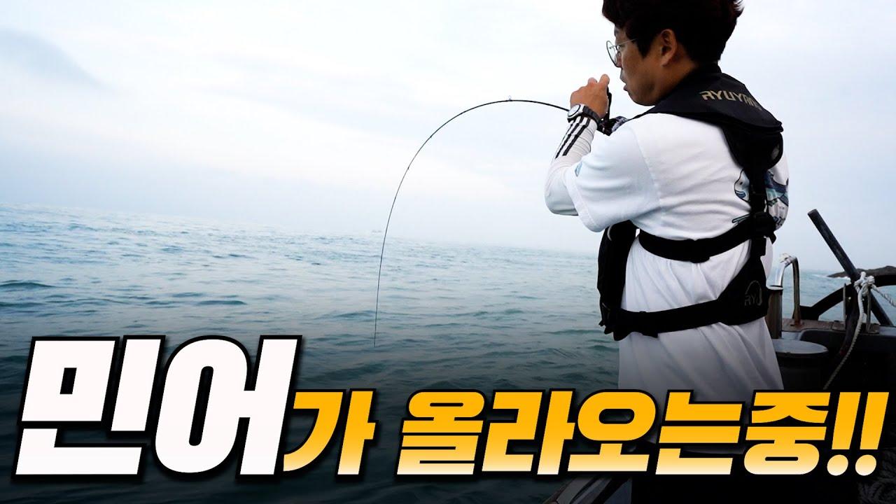 괴물 같은 생선을 잡았다!! | 민어낚시 | Croaker fishing [박과장TV]