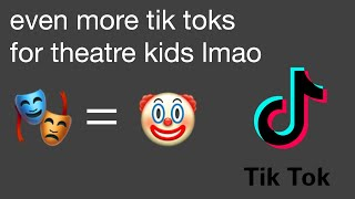 theatre kid tik toks to memorize your lines to