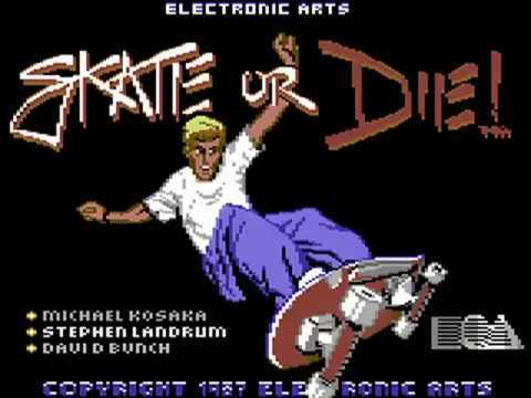Jouez à Skate or Die! sur Commodore 64 avec nos Bartops Arcade et Consoles Retrogaming