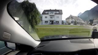 Путешествие по Норвегии (2013 год). Дорога в Гейрангер. День седьмой.(Дневной переезд. Примерно так видит Норвегию водитель, когда его семья спит в машине :) Постоянная смена..., 2013-12-24T08:51:33.000Z)