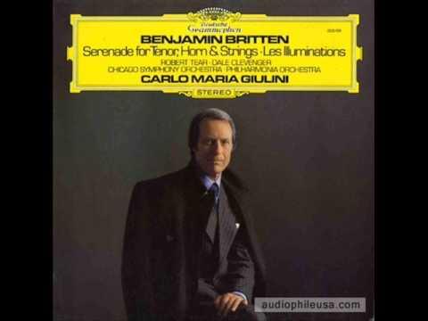 Benjamin Britten - Serenade for Tenor, Horn and Strings op. 31