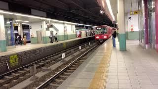 【名鉄6500系6518F】367レ全車一般車特急名古屋行き 金山発車シーン