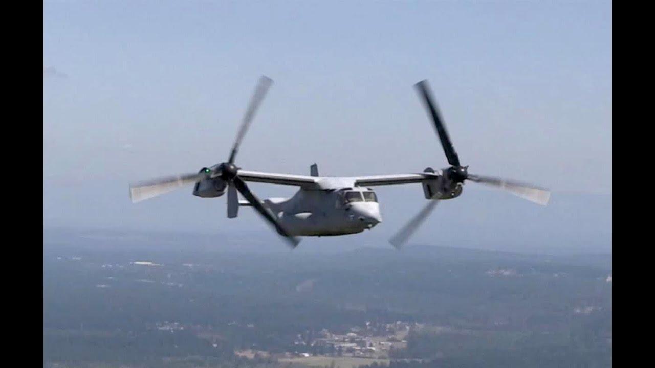 Elicottero Osprey : U s marines mv osprey aircraft in action doovi