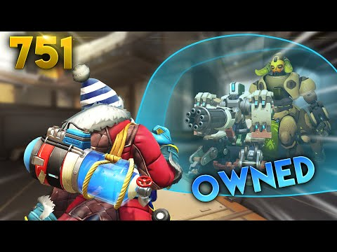 BEST STRAT VS BUNKER!! | Overwatch Daily Moments Ep.751 (Funny and Random Moments)