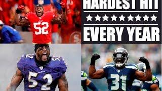 Best NFL Hit Each Season (2000 - 2017)