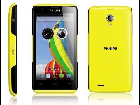 Обзор Смартфона Philips Xenium W6500 - YouTube