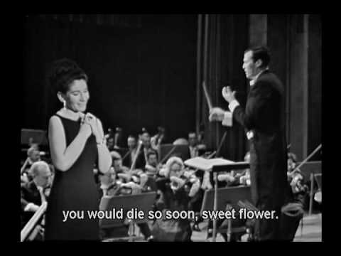 Maria Callas La sonnambula ''Oh! se una volta sola-Ah, non credea mirarti'' 1965'