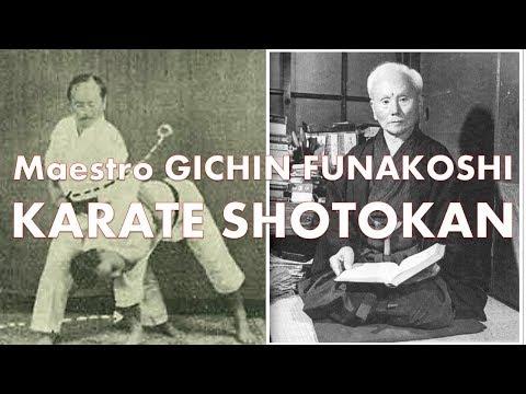 Sensei Gichin Funakoshi fundador del Karate Shotokan