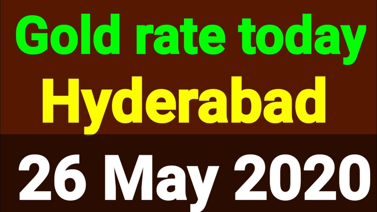 Today In Hyderabad Gold Rate