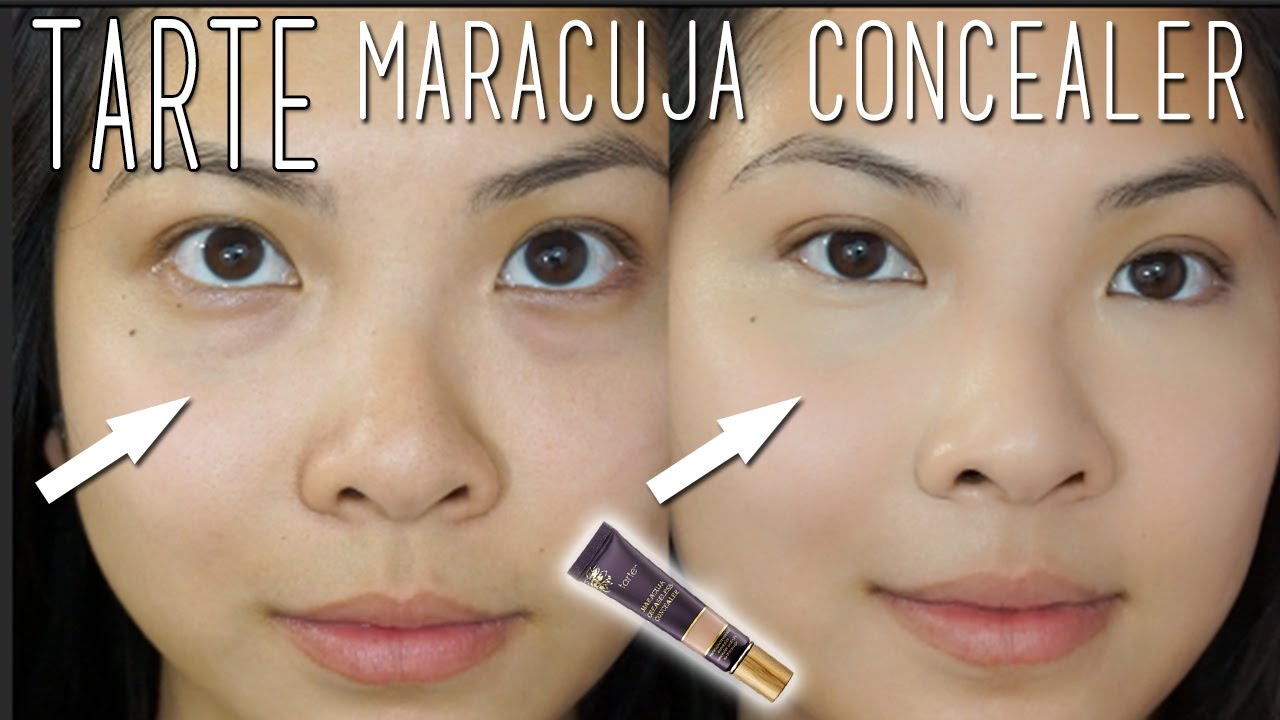 Tarte Maracuja Creaseless Concealer Review And Demo Youtube