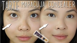 Tarte Maracuja Creaseless Concealer Review and Demo