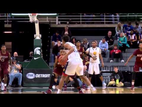 Detroit Western vs. Saginaw Arthur Hill  2015 Class A Boys Basketball State Final
