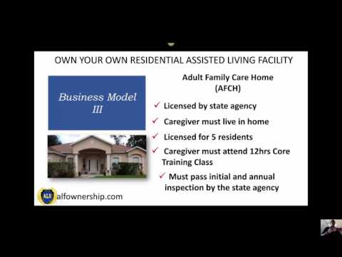 Business Model III of Residential Assisted Living Ownership Video 3 of 4