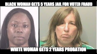 How The Justice System Treated These Two Cases Of Voter Fraud