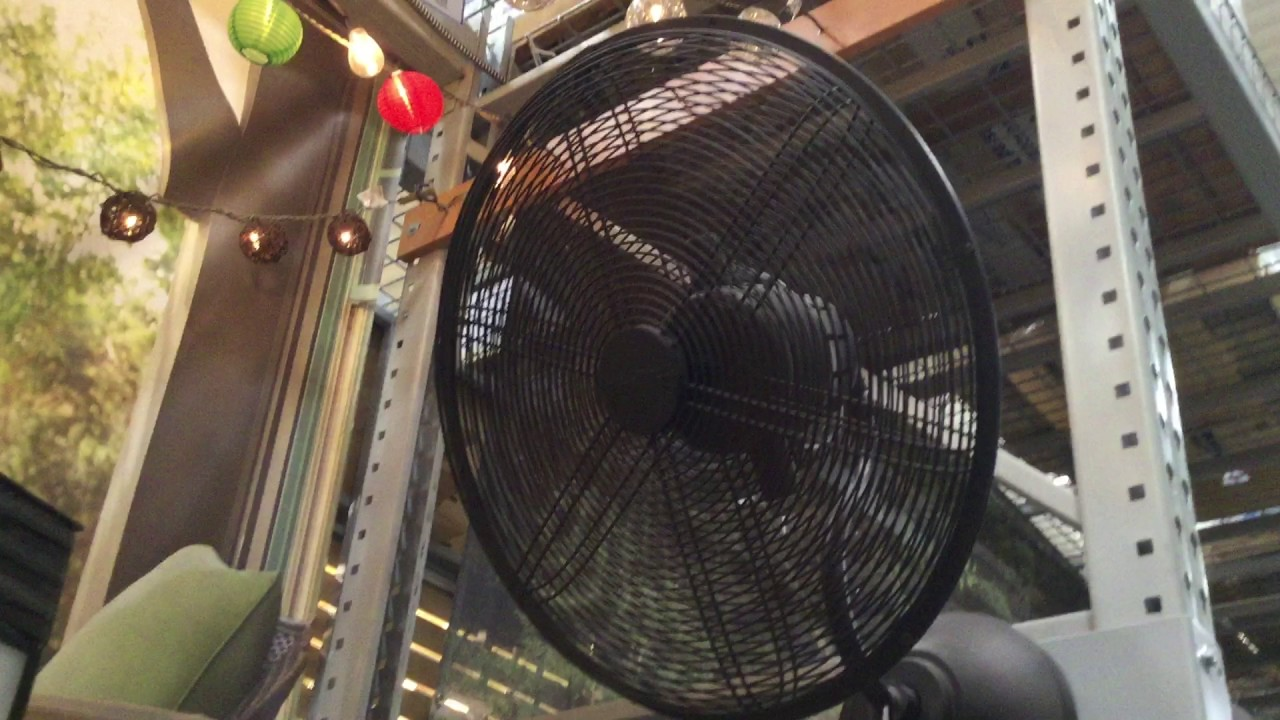 harbor breeze outdoor oscillating wall fan